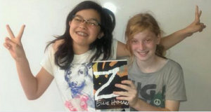 239 page book edited and published by two 5th graders