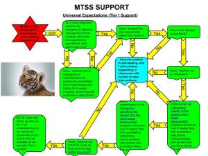 MTSS Support Flow Chart