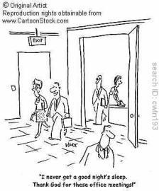 dreadful meetings