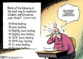 P standardized testing