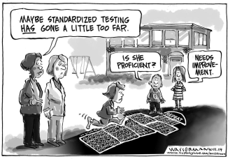 standardized testing hopscotch