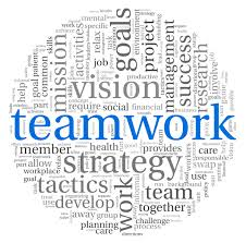 teamwork word sphere